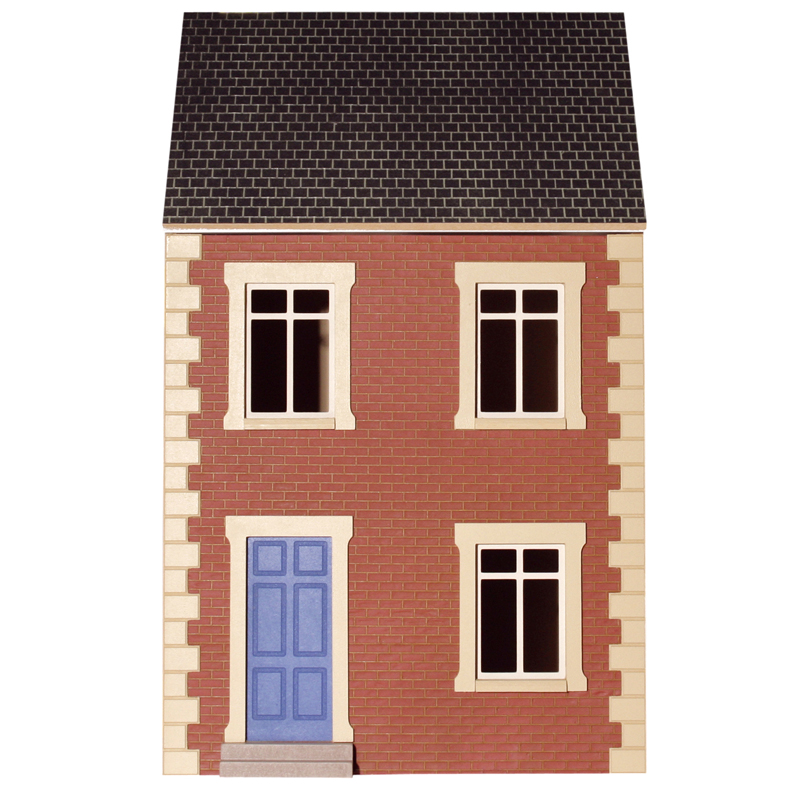 Terrace house mytinyworld dolls houses for Whats a terrace house