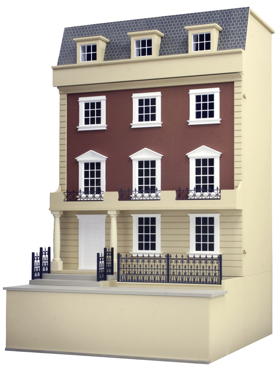 Kensington dolls house 28 images kensington wooden for The kensington house