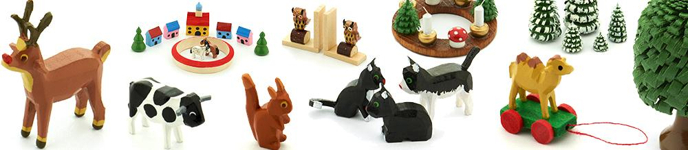 Category Overview Picture for Hand Crafted Toys