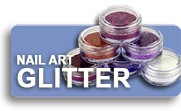 Nail Art Glitter Shop Button