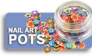 Nail Art Pots Shop Button