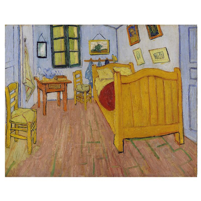 van gogh gem lde schlafzimmer in arles ebay. Black Bedroom Furniture Sets. Home Design Ideas