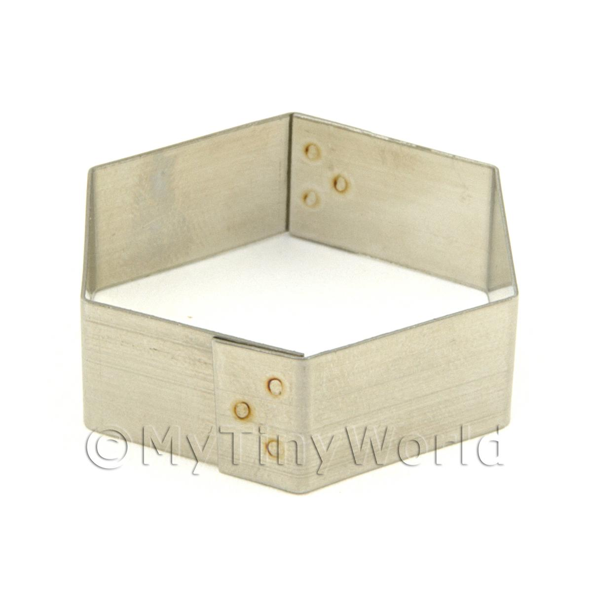 Metal Hexagonal Shape Sugarcraft / Clay Cutter (32mm)
