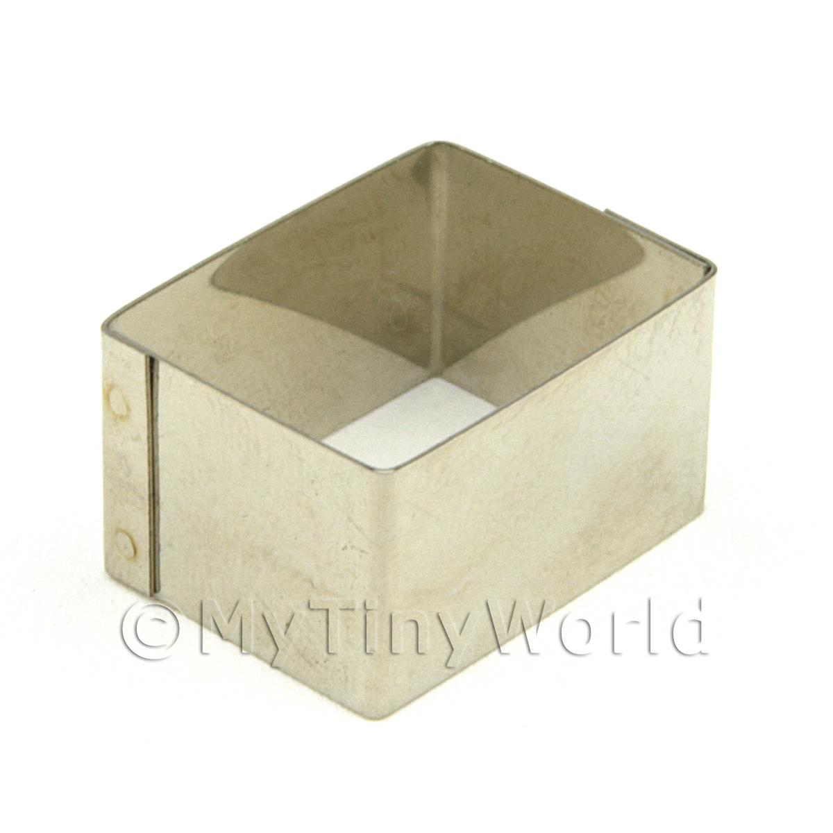 Metal Rectangular Shape Sugarcraft / Clay Cutter (20mm)