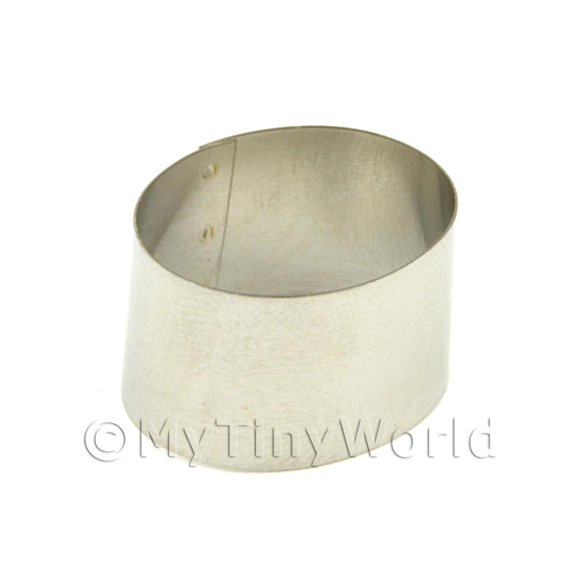 Metal Oval Shape Sugarcraft / Clay Cutter (20mm)