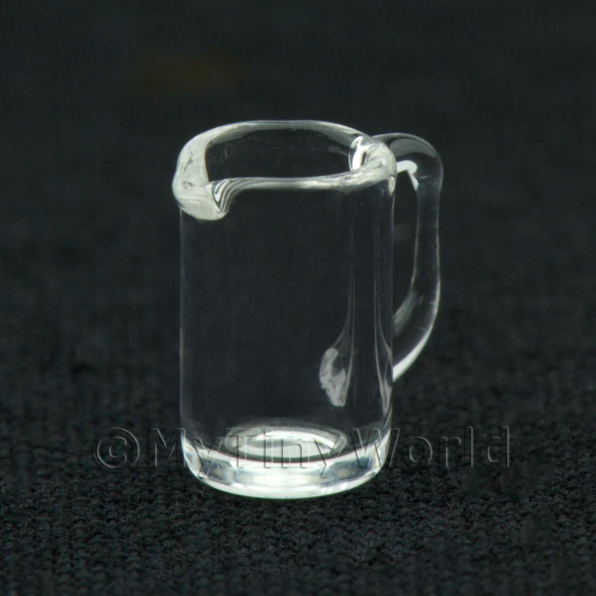 8mm Dolls House Miniature Glass Sauce Jug