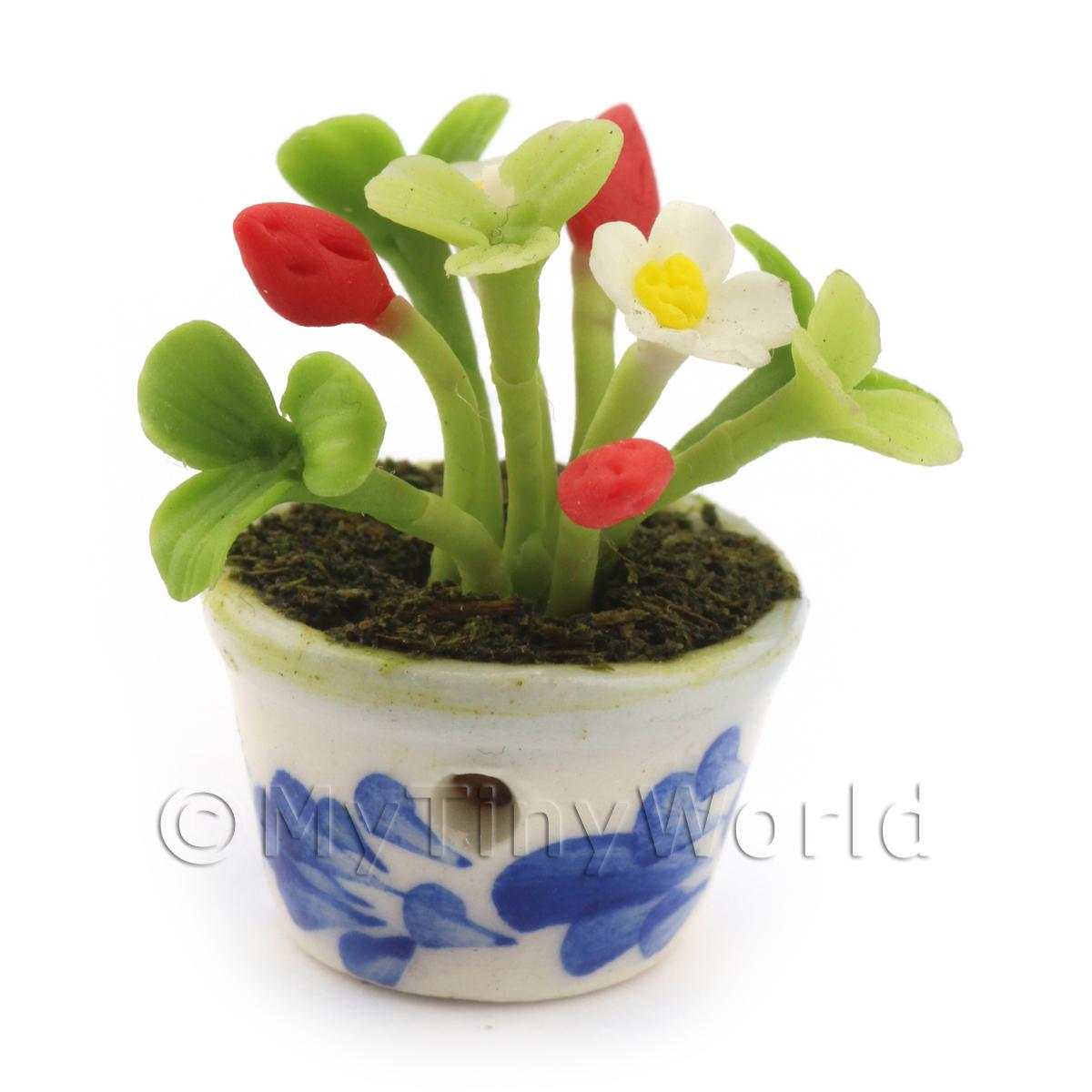 Dolls House Miniature Strawberry Plant