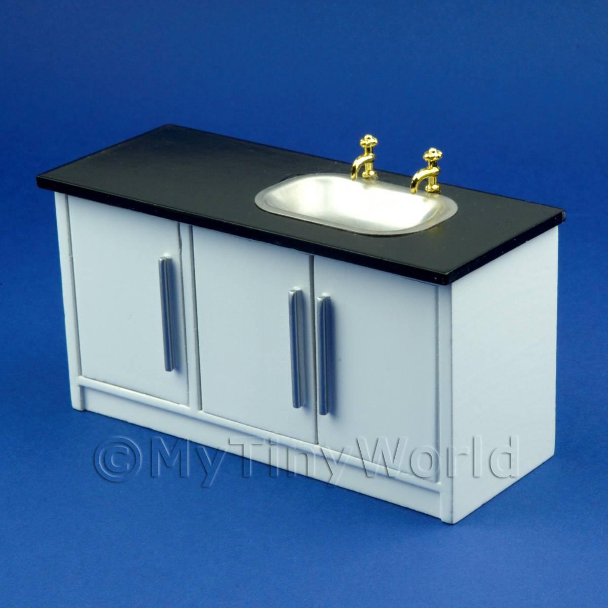 Kitchen Sink Unit Sizes: Dolls House Miniature Furniture (Value)
