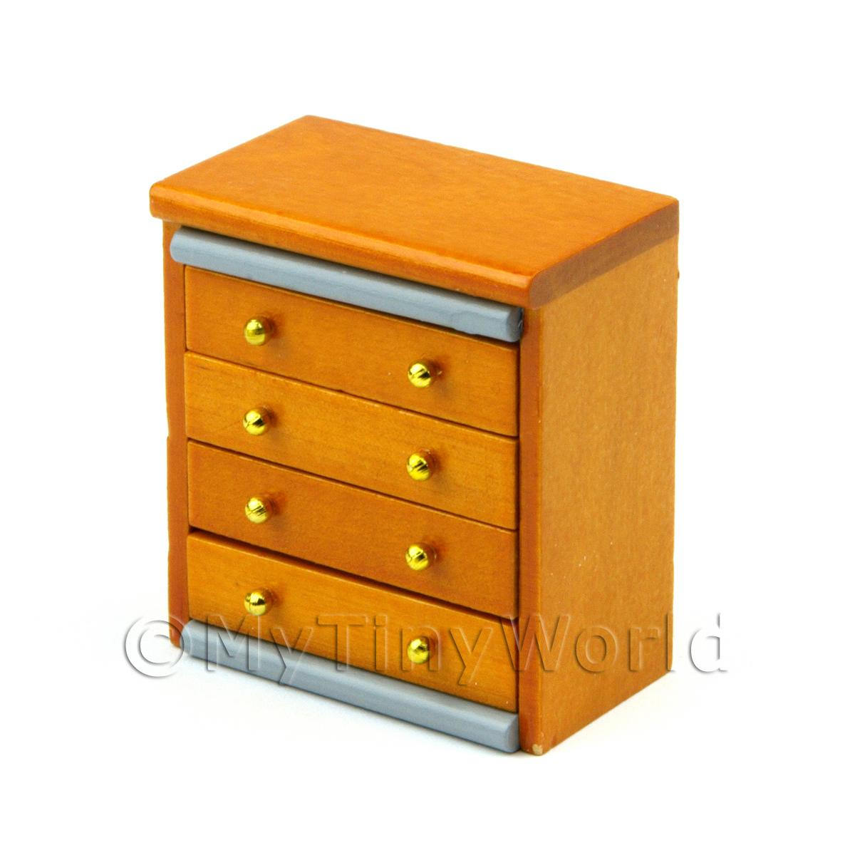 Dolls House Miniature Childrens Chest of Drawers