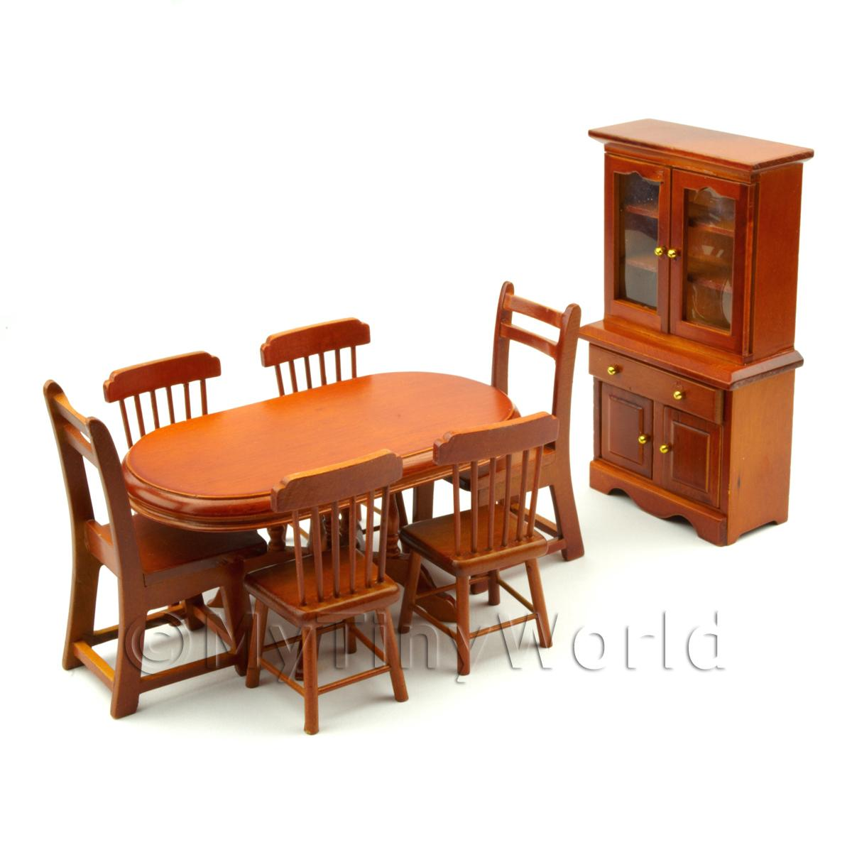 Dolls House Miniature Dining Set