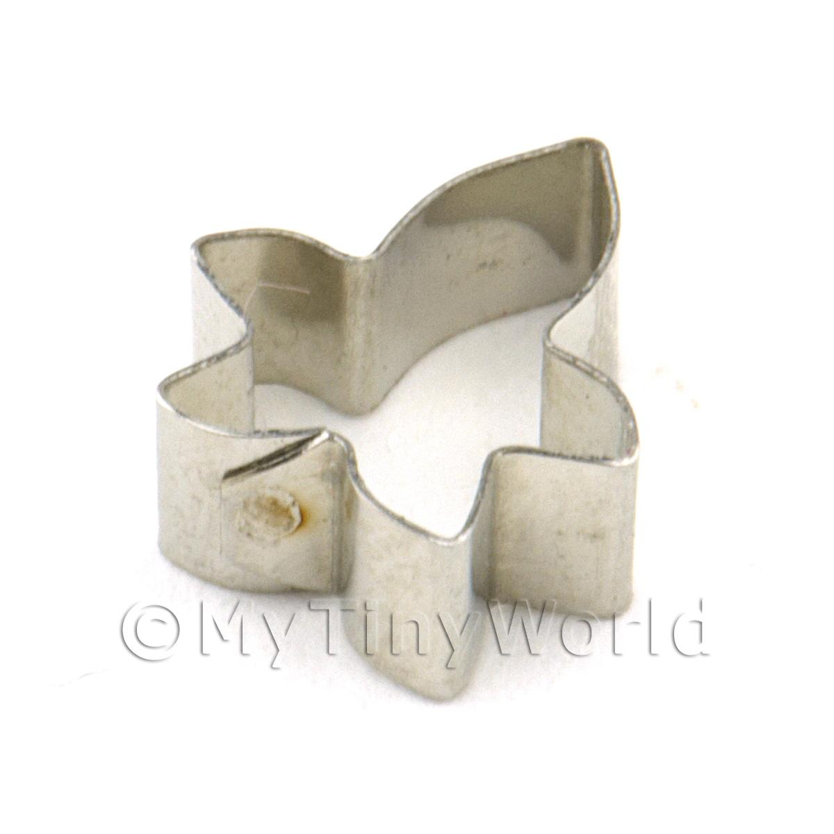 Metal Ivy Leaf Sugarcraft / Clay Cutter (10mm)