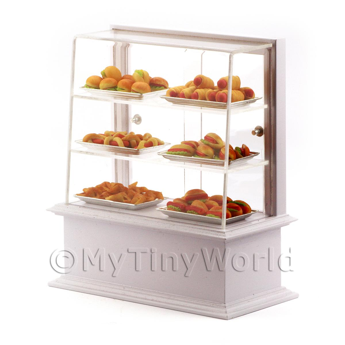 Dolls House Miniature Snack Display Counter