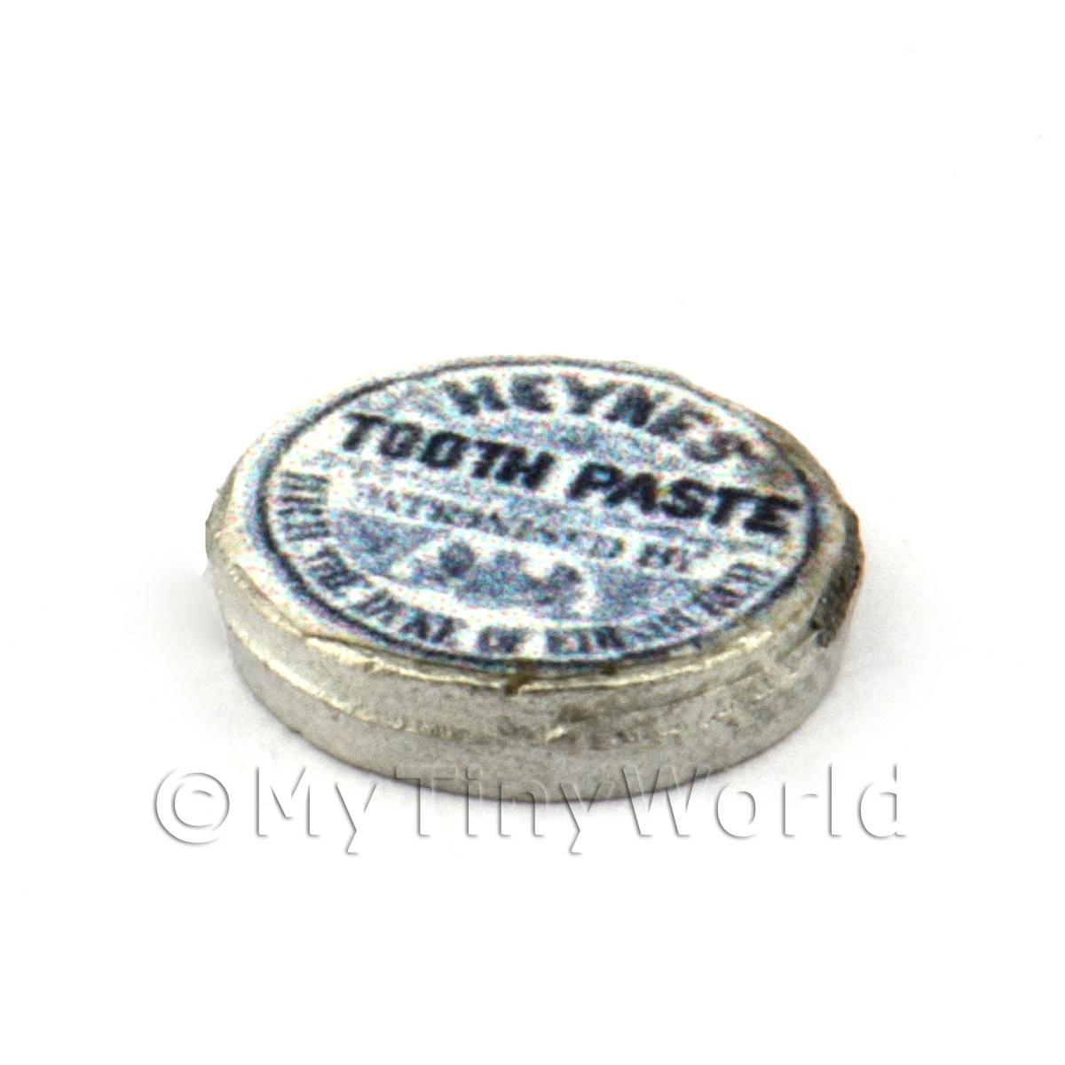Dolls House Miniature Can Of Heynes Toothpaste