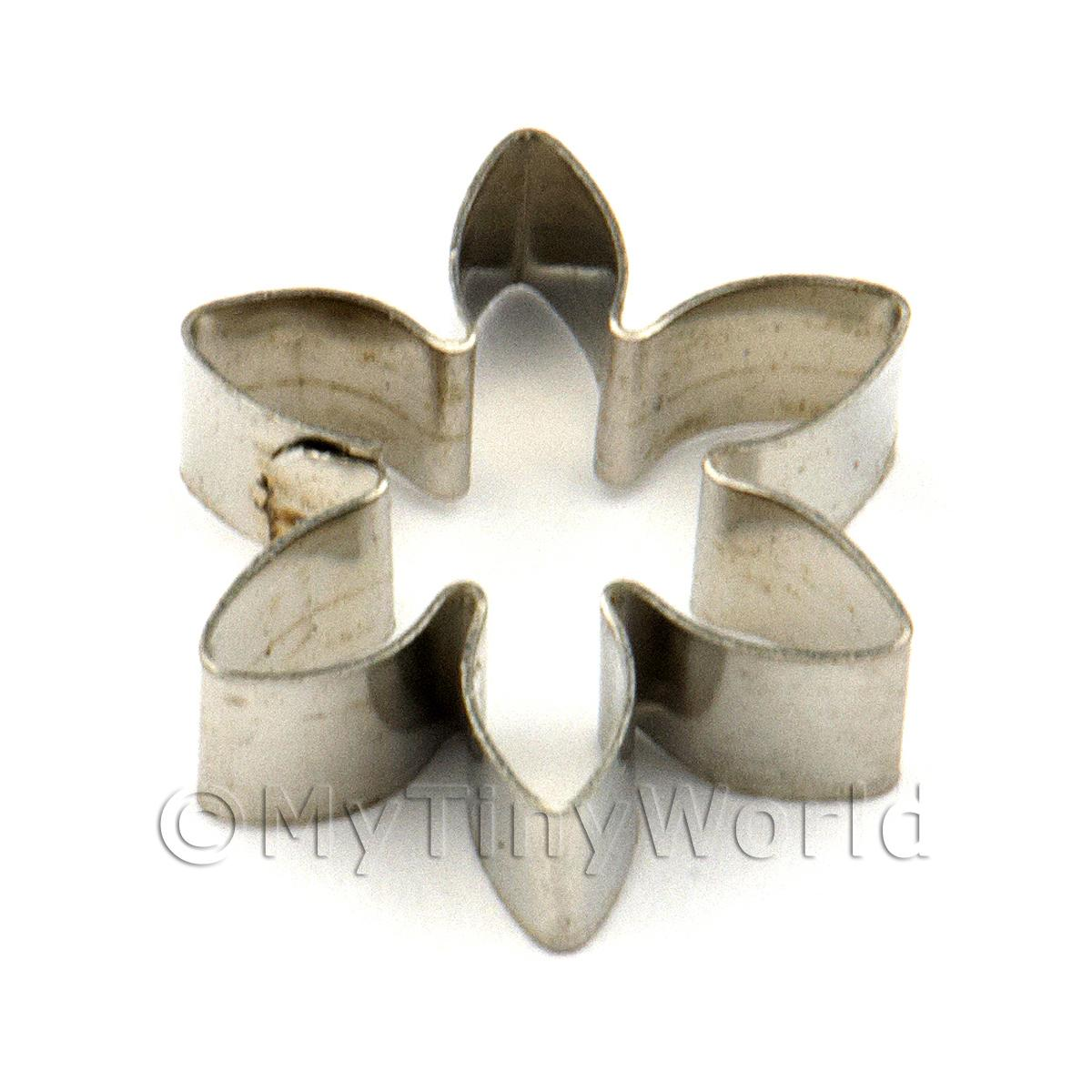 Waterlily Sugarcraft / Clay Metal Cutter