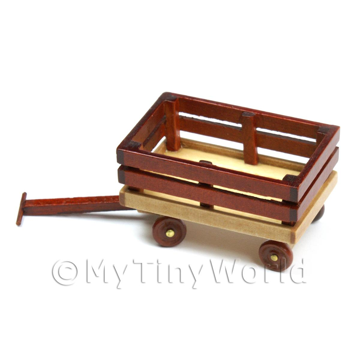 Dolls House Miniature  Pull-Along Cart
