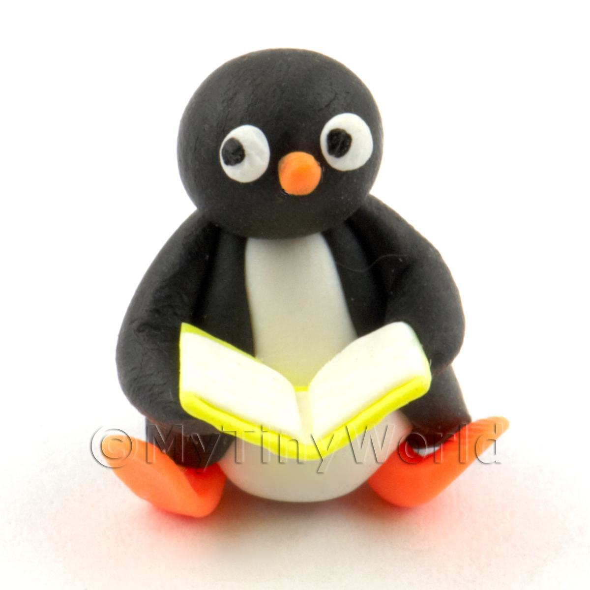 Dolls House Miniature Fun Penguin Figurine (10)