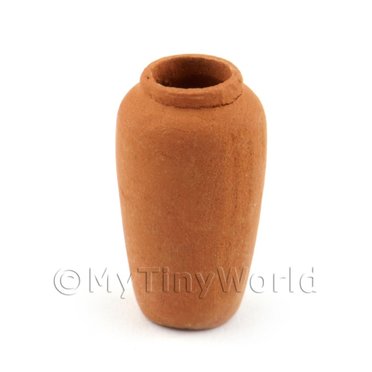 Dolls House Miniature Very Fine Terracotta Vase (10 of 12)