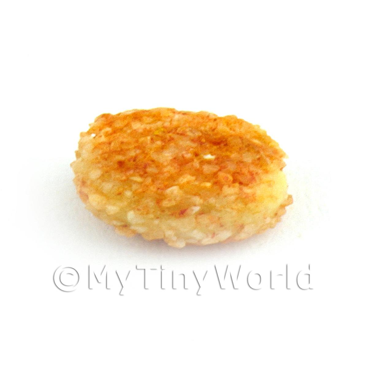 Dolls House Miniature Fish Cake