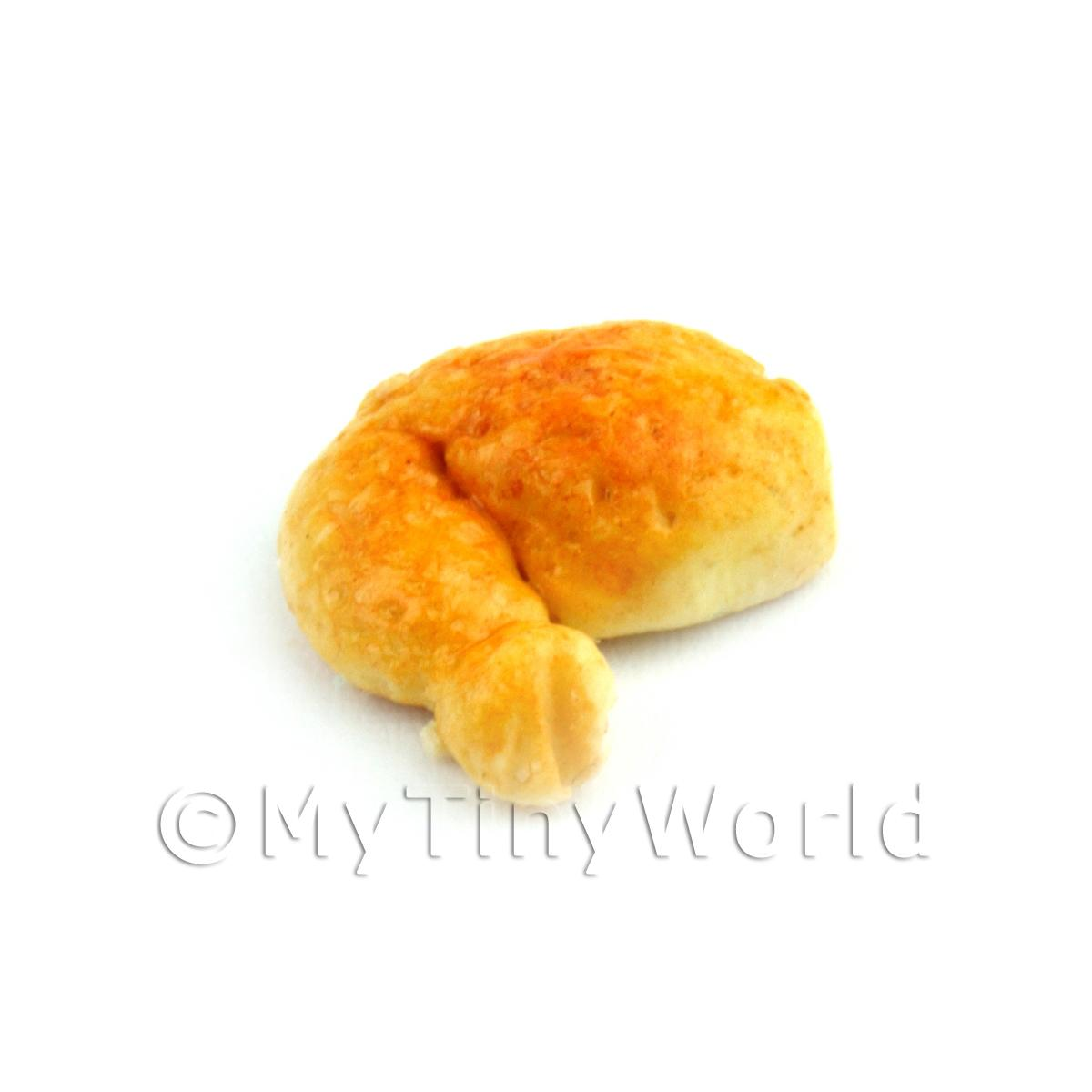 Dolls House Miniature Fried Chicken Leg