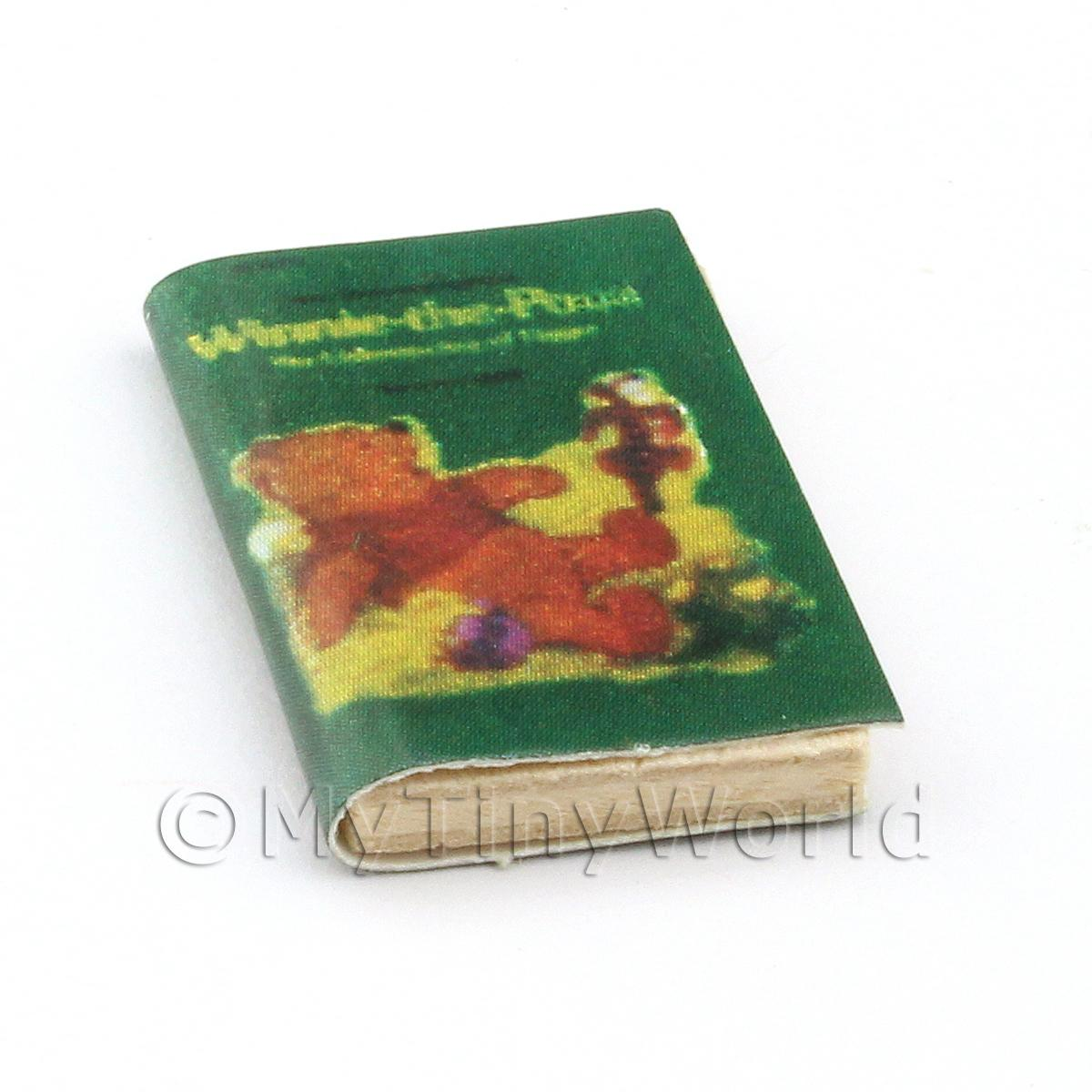 Dolls House Miniature Winnie The Pooh Book