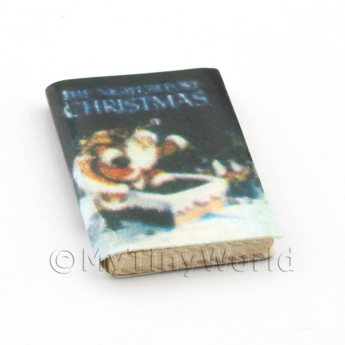 Dolls House Miniature Childrens Book The Night Before Christmas