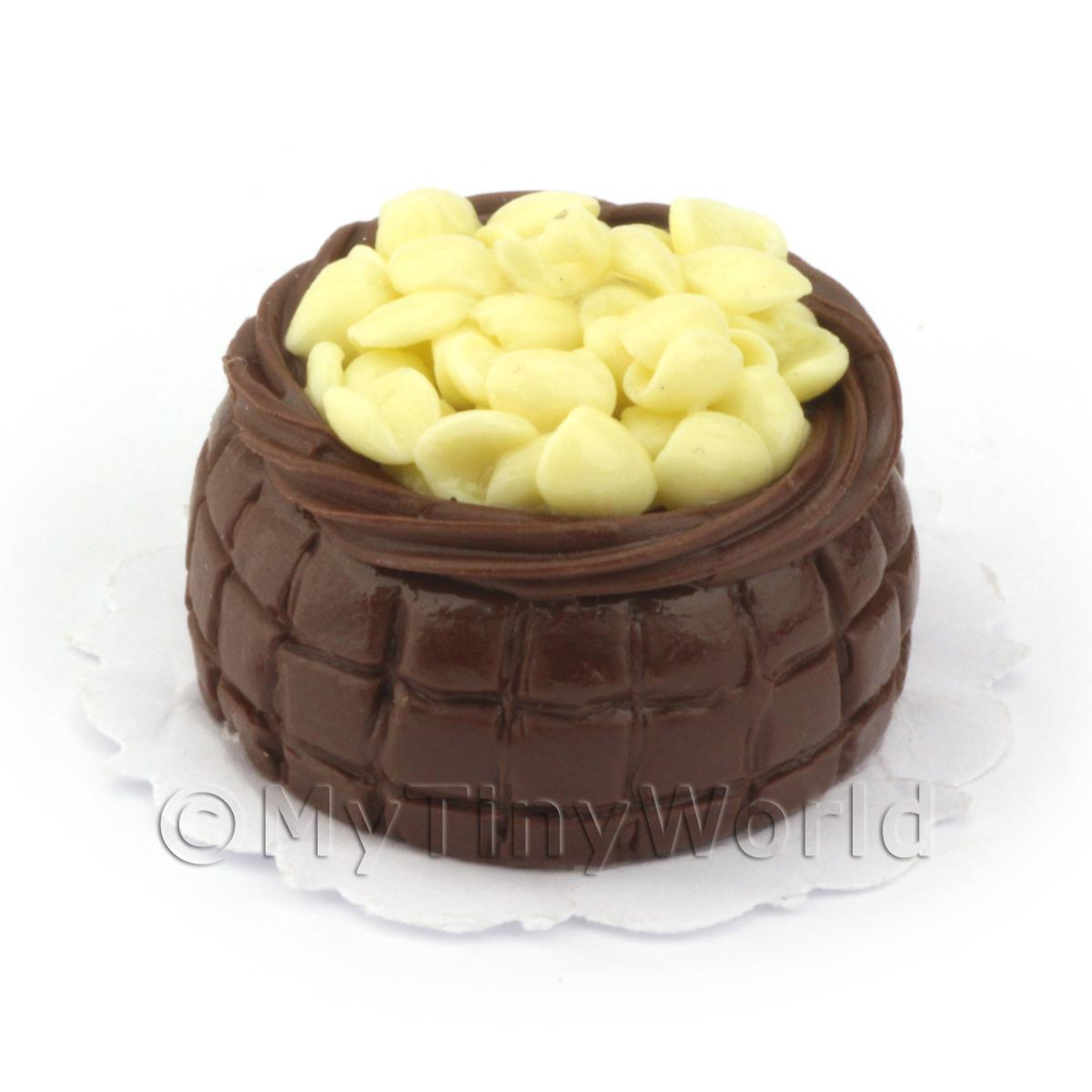 Dolls House Miniature Chocolate Celebration Cake