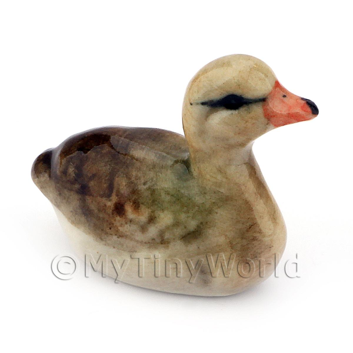 Dolls House Miniature Ceramic Duck Style 2
