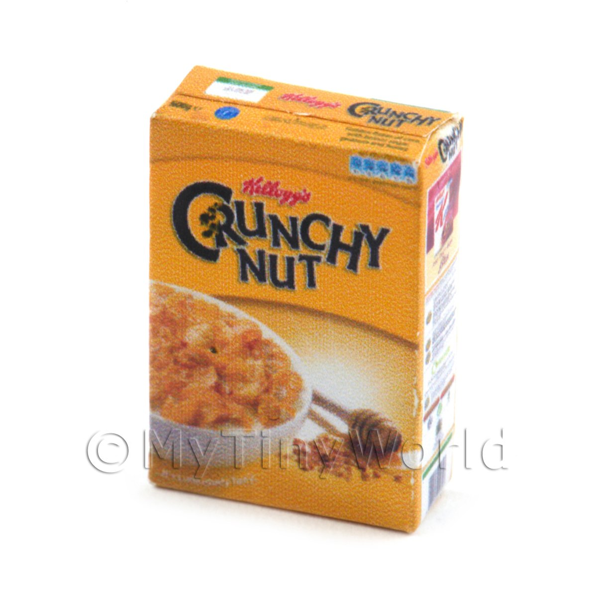 Dolls House Miniature Kelloggs Crunchy Nut Cereal