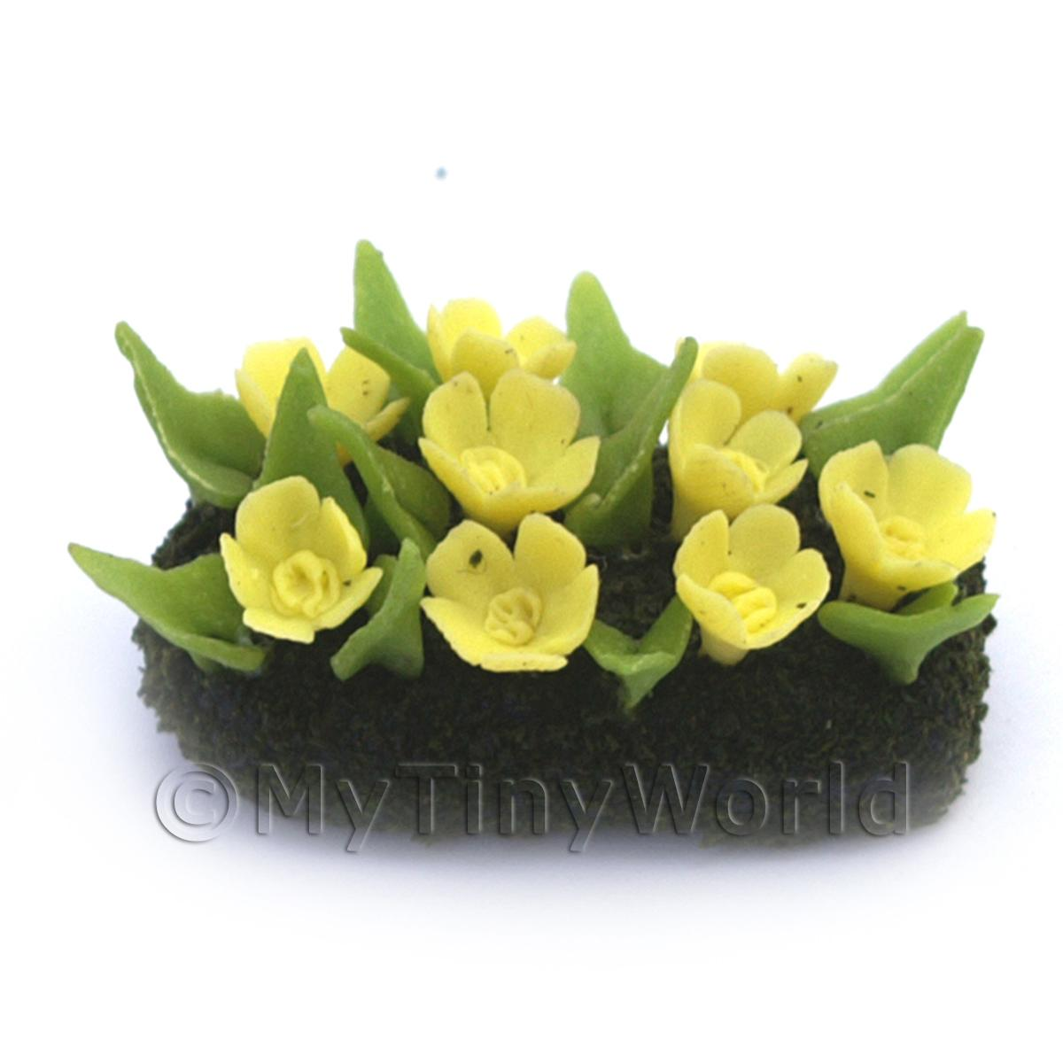 Dolls House Miniature Small DIY Flower Bed (DIY14)