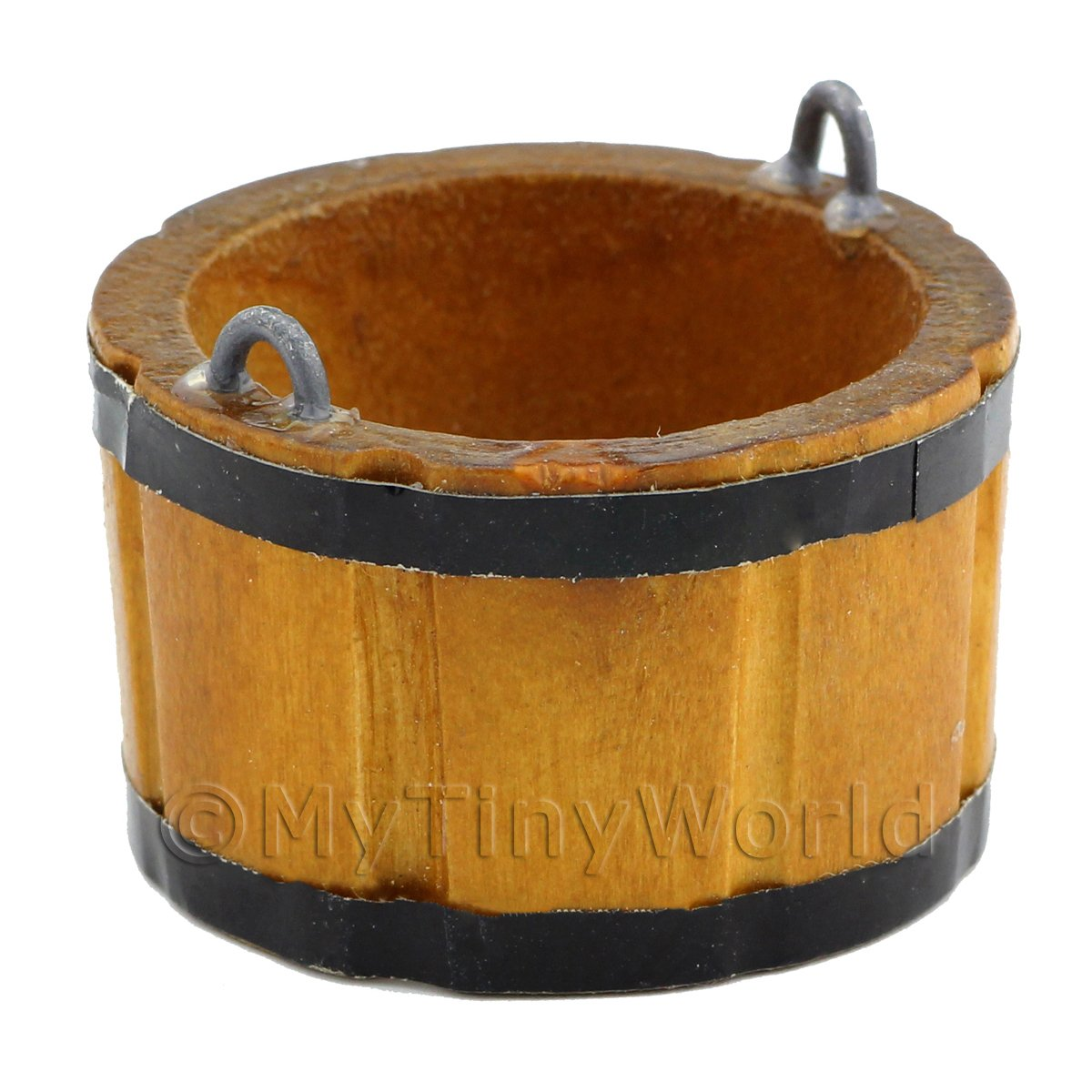 Dolls House Miniature Large Wooden Bucket / Churn