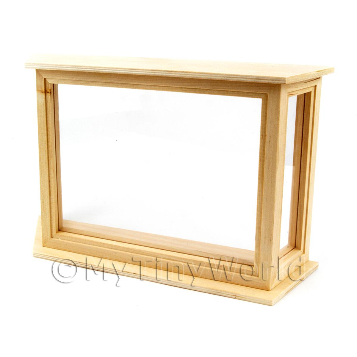 Dolls House Miniature Bay Window With Glazing