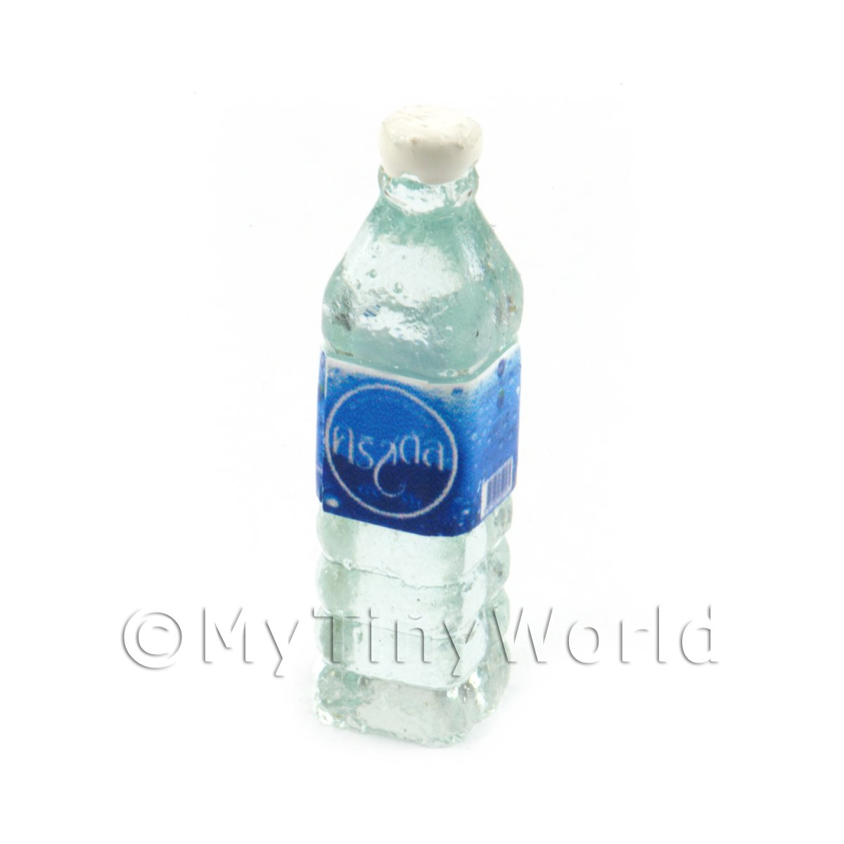 Dolls House Miniature Crystal Water Bottle