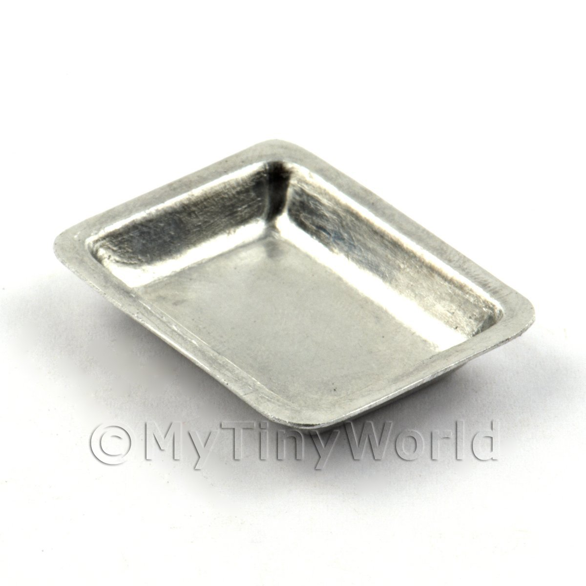 Dolls House Miniature Deep Turkey or Joint Baking  Tin