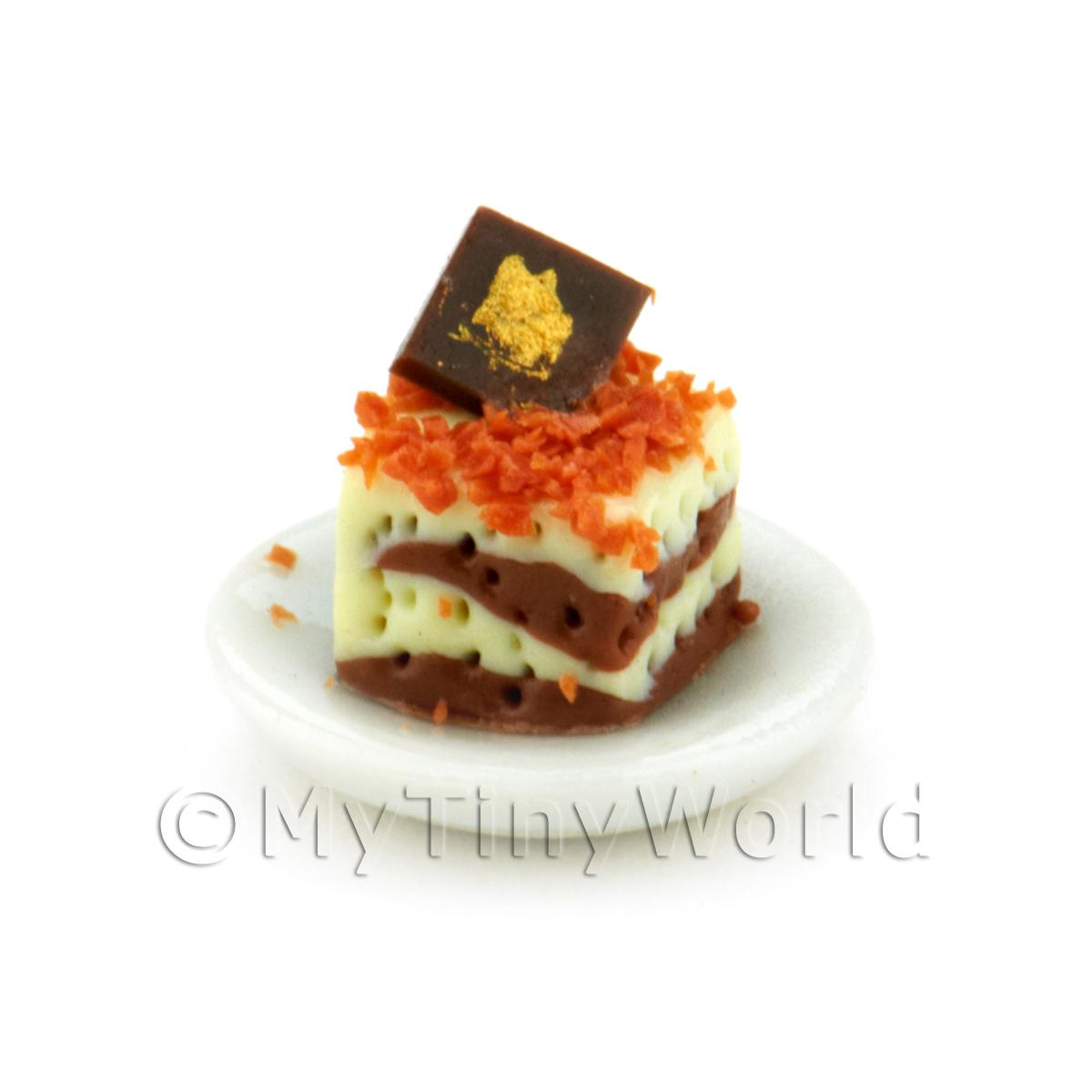 Miniature Mixed Chocolate Caramel Square