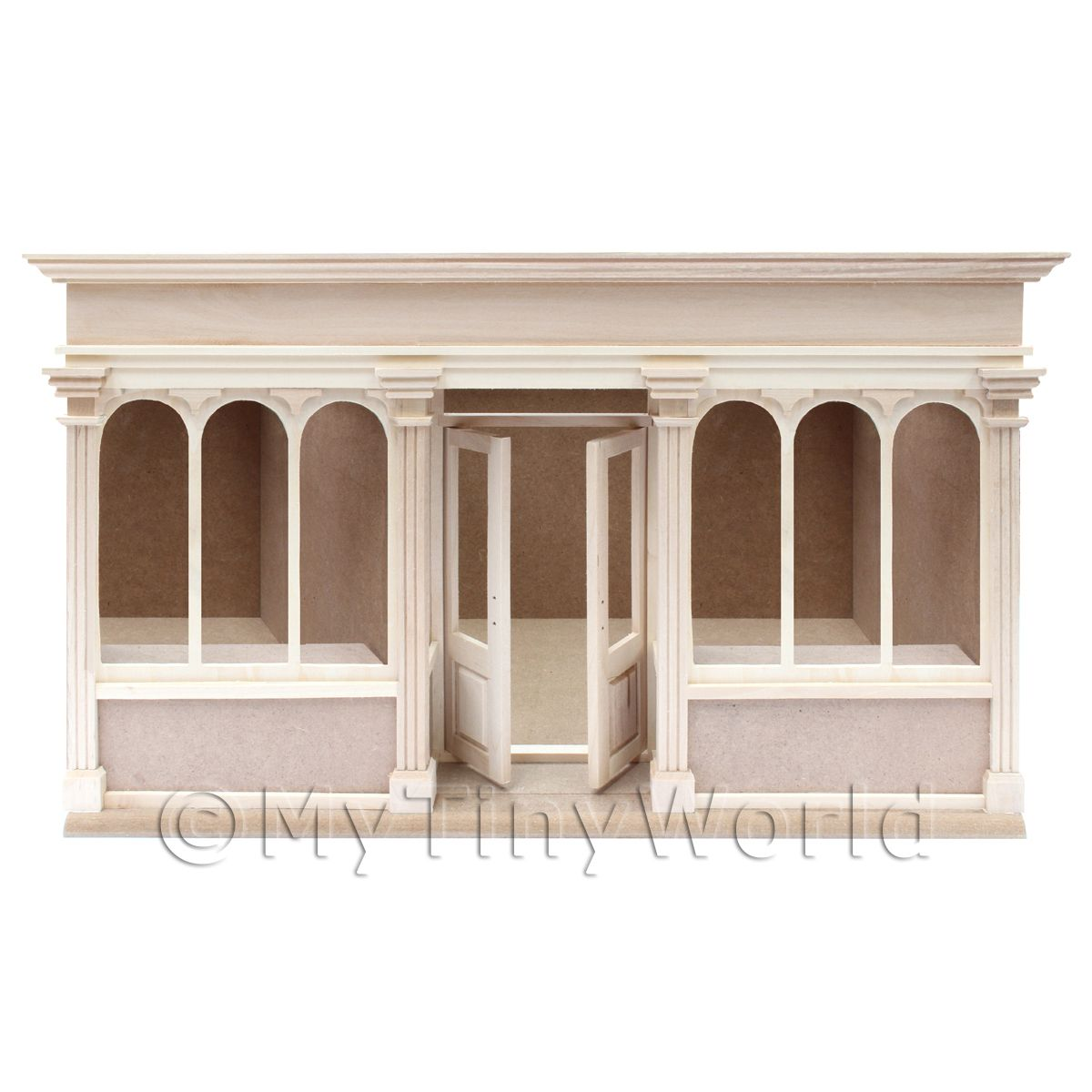Dolls House Miniature 6 Pane Long Shop Shop Kit