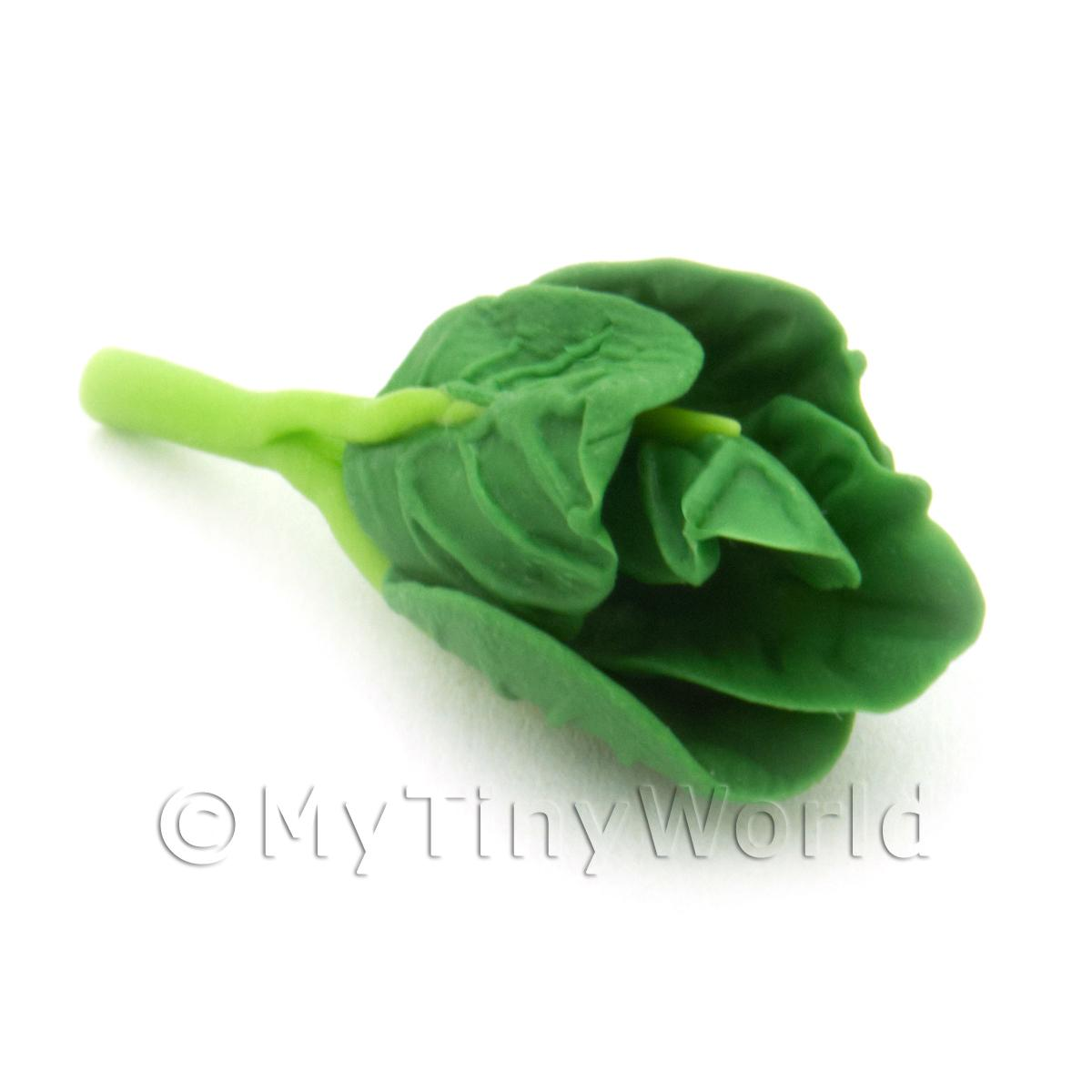 Dolls House Miniature Vegetable Greens Stem