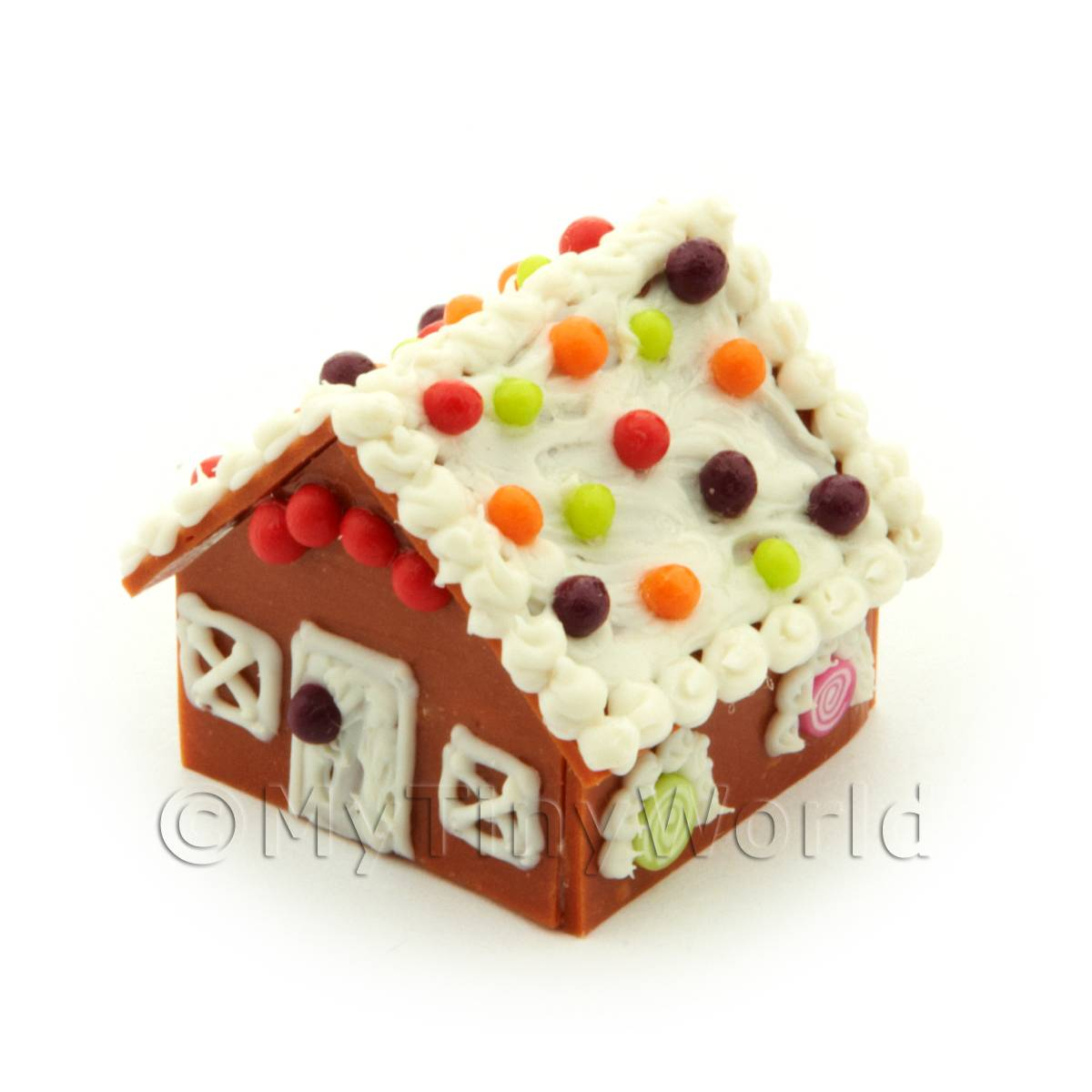Dolls House Miniature Boiled Sweet Gingerbread House