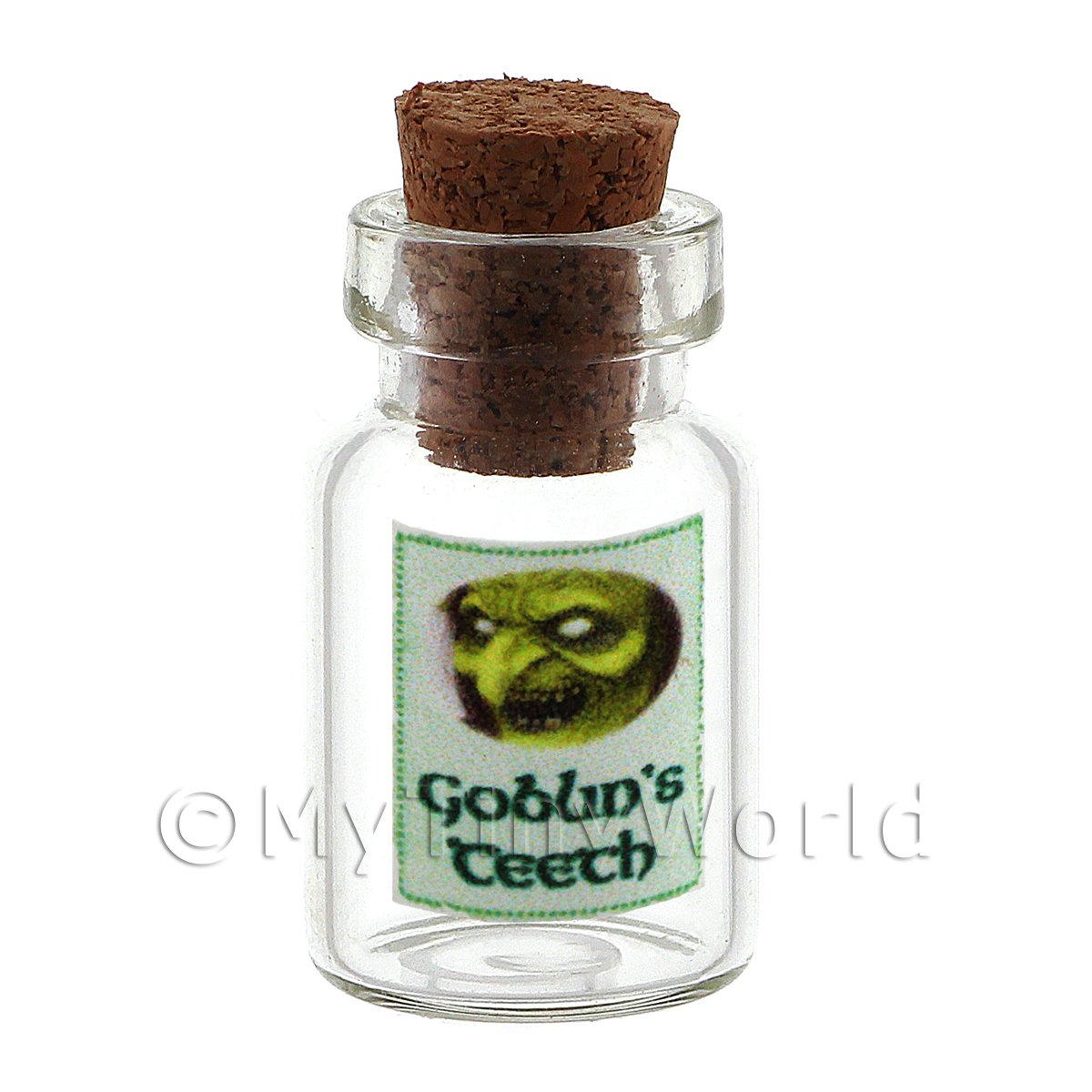 Dolls House Miniature Goblins Teeth Magic Storage Jar