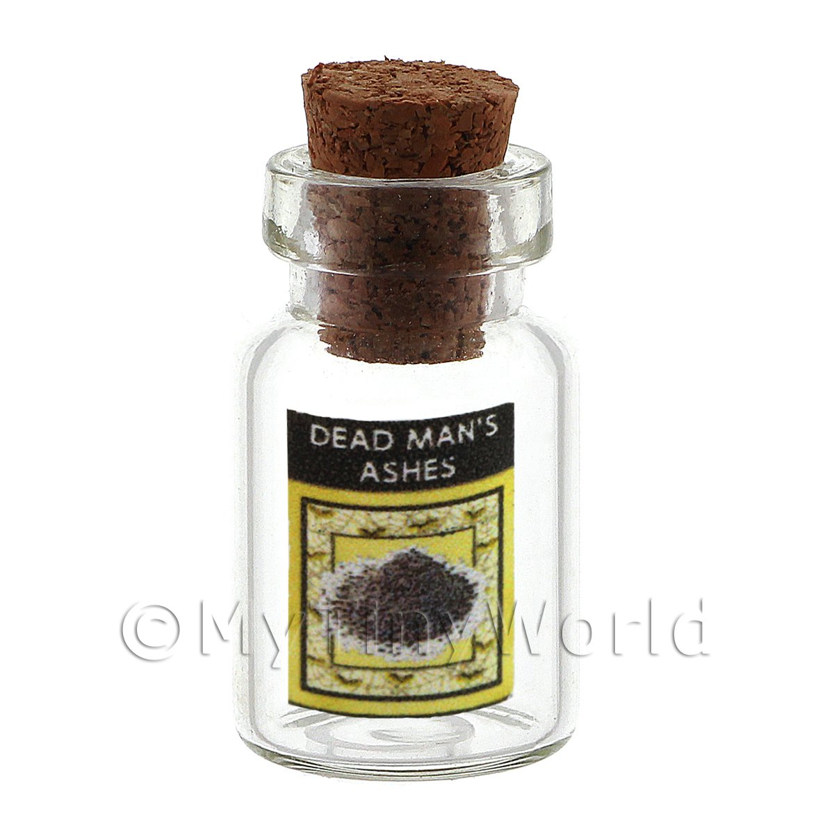 Dolls House Miniature Dead Mans Ashes Magic Storage Jar (Style 3)