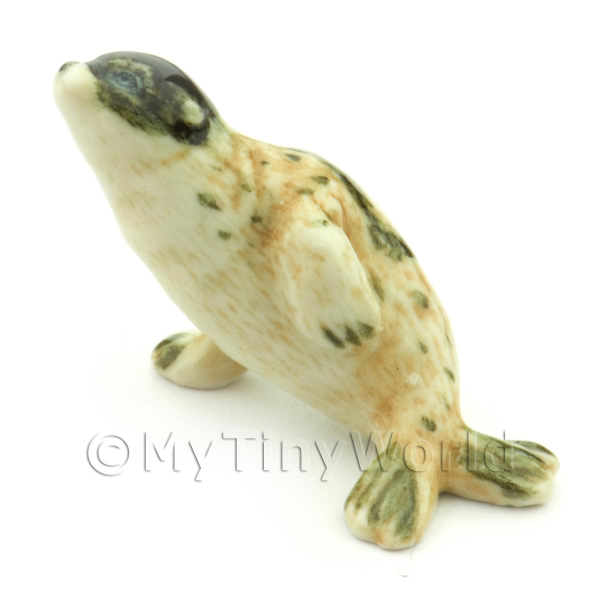 Dolls House Miniature Ceramic Baby Seal Style 1