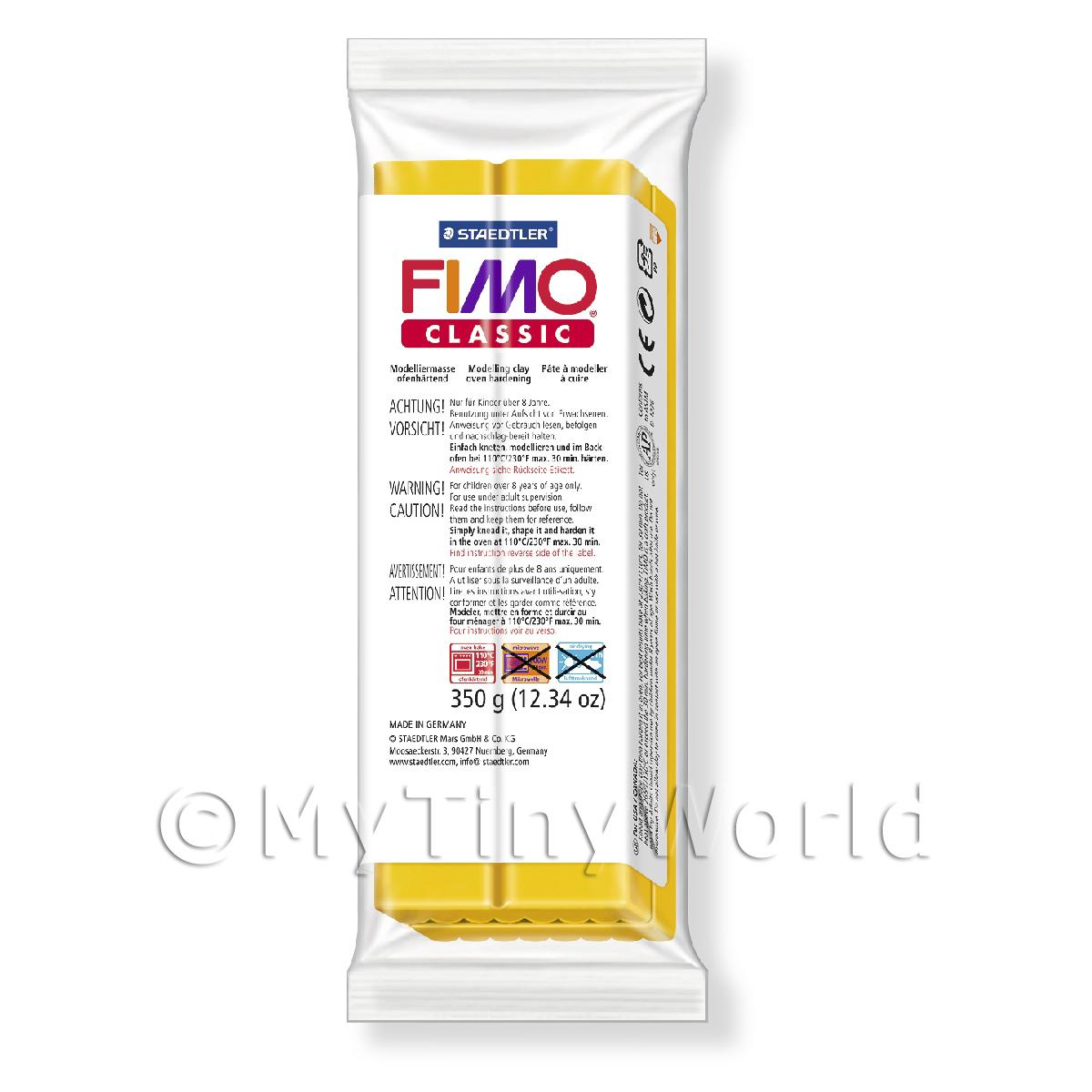 FIMO Classic Basic Colours 350g Gold 15
