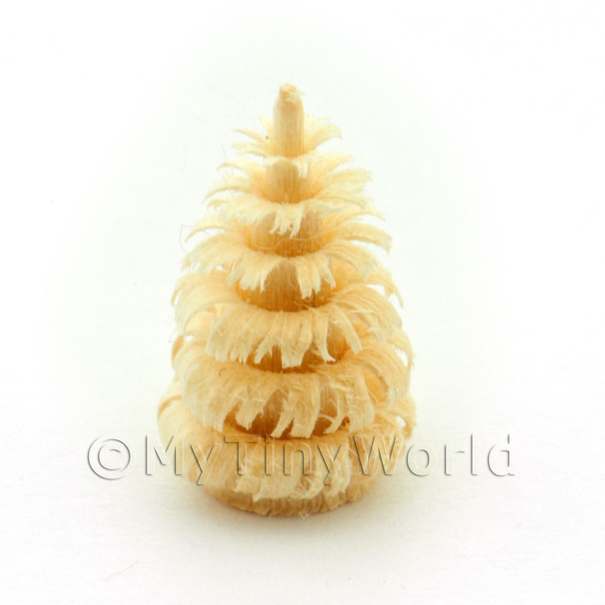 Dolls House Miniature 15mm Natural Tree