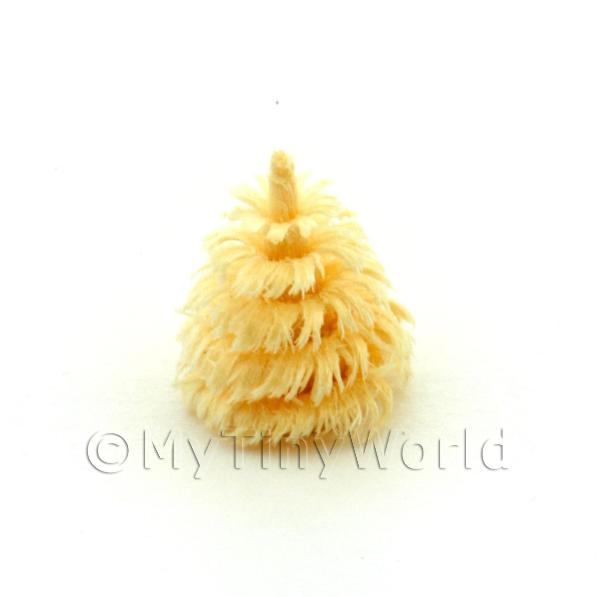 Dolls House Miniature 10mm Natural Tree
