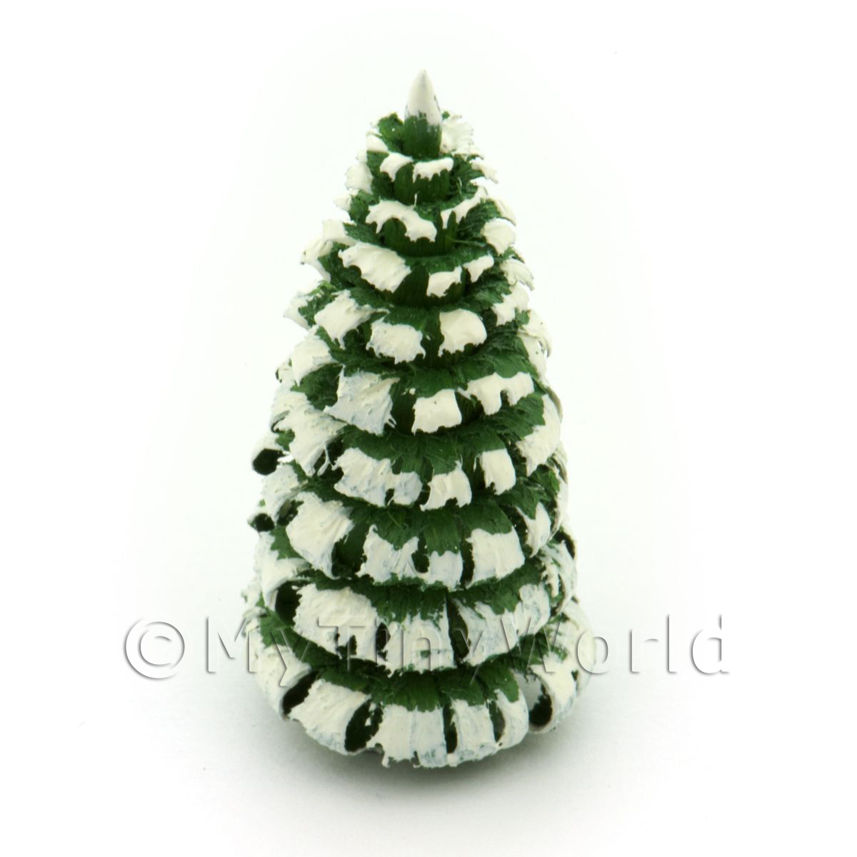 Dolls House Miniature 40mm Snow Tree