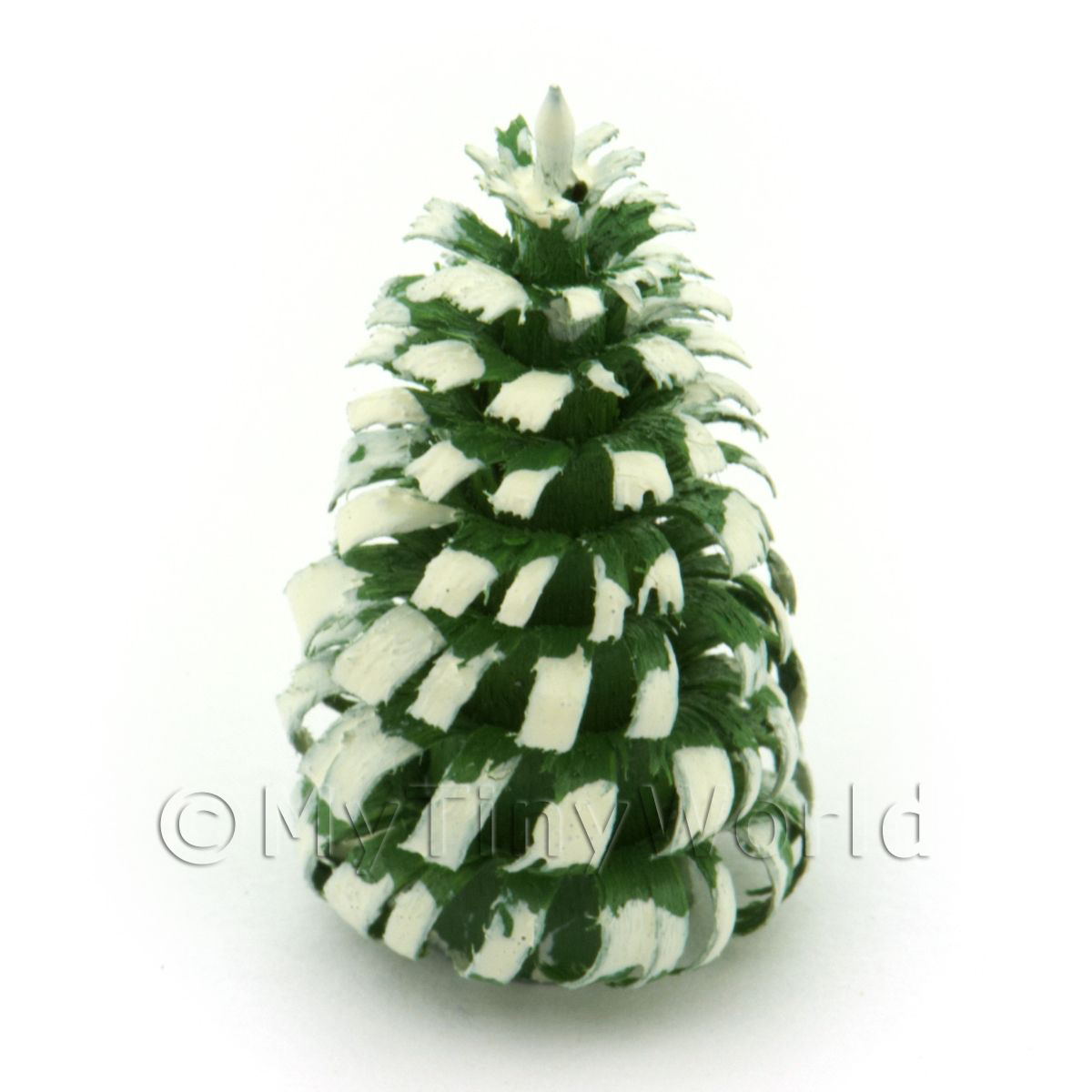 Dolls House Miniature 30mm Snow Tree