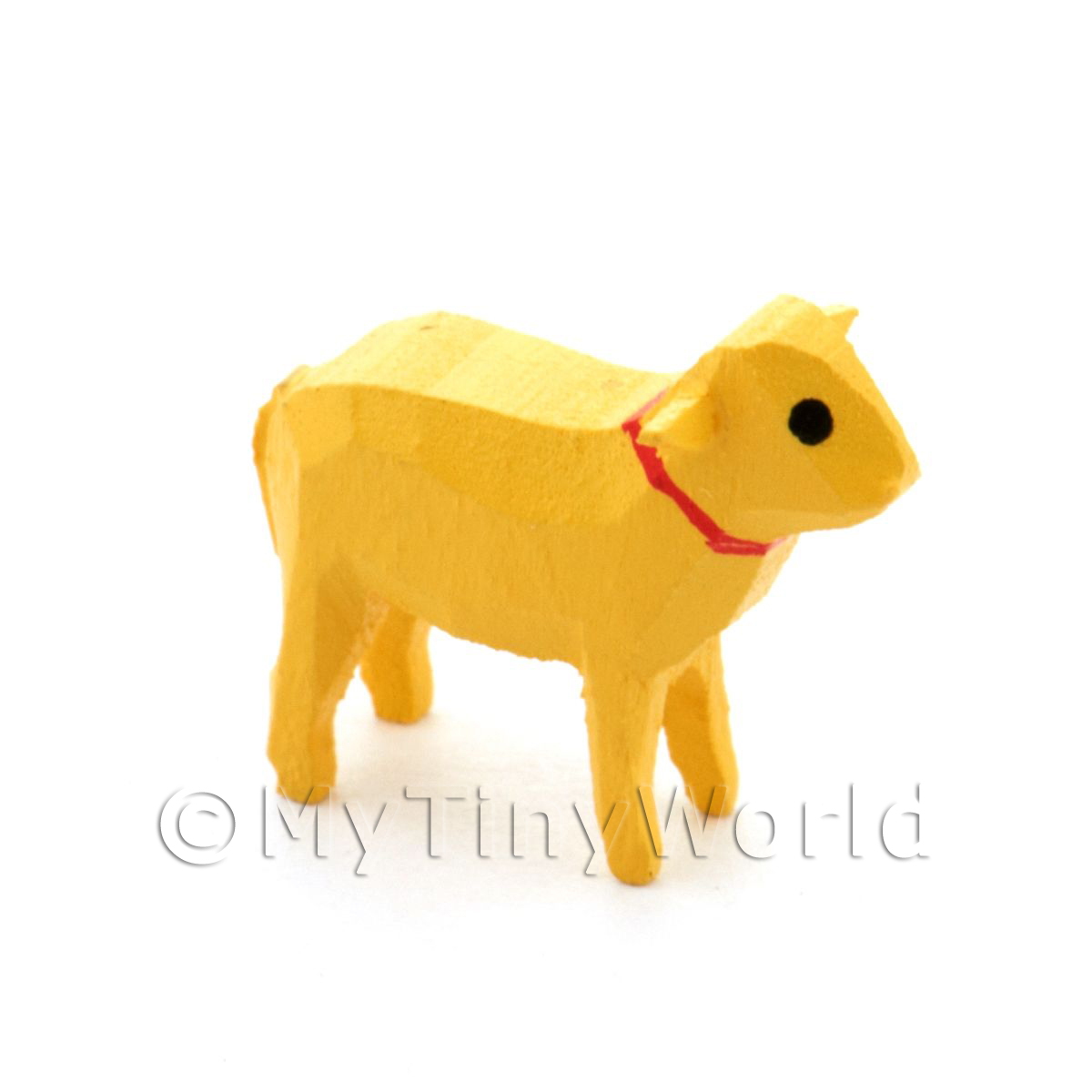 German Dolls House Miniature Small Standing Sheared Sheep