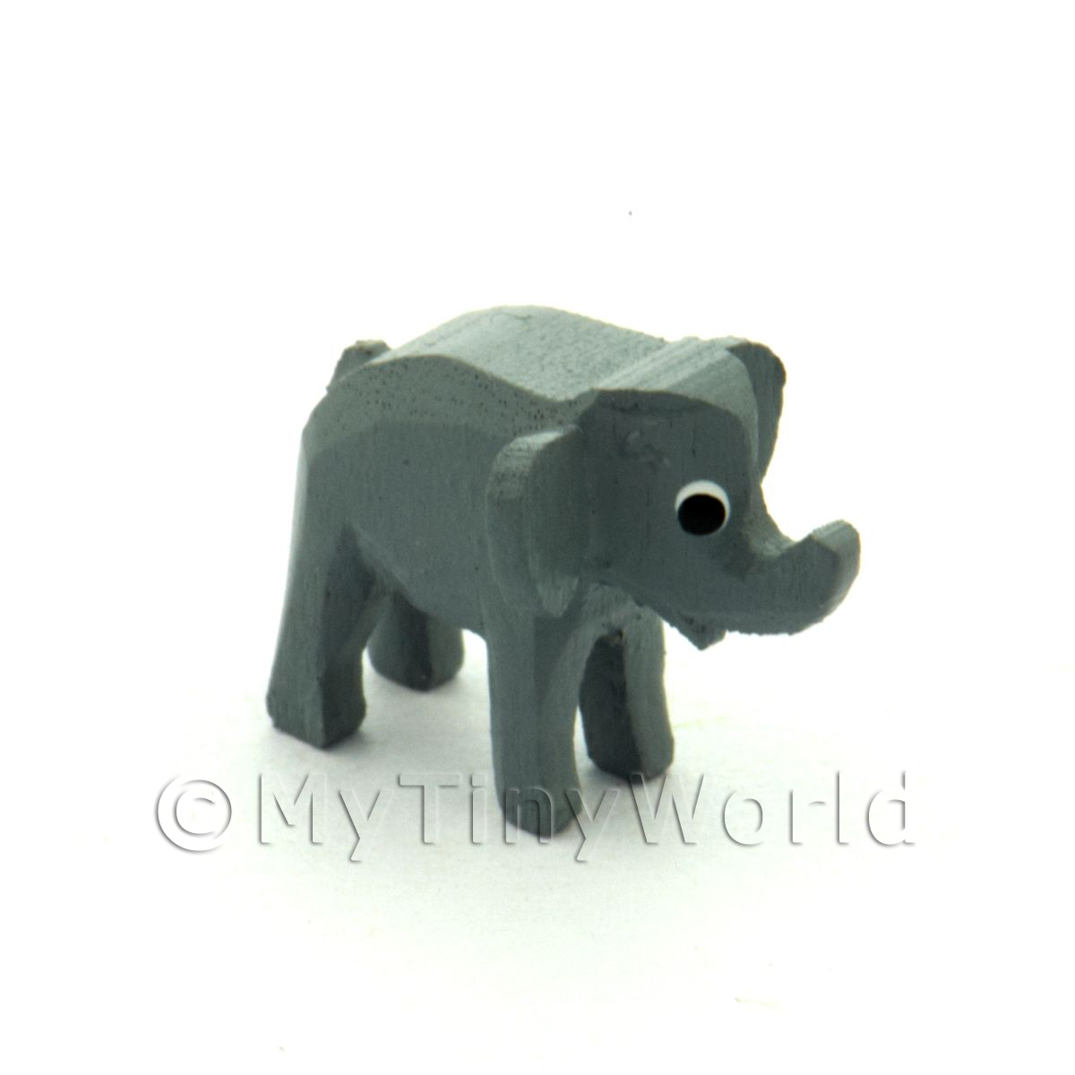 German Dolls House Miniature Small Standing Elephant