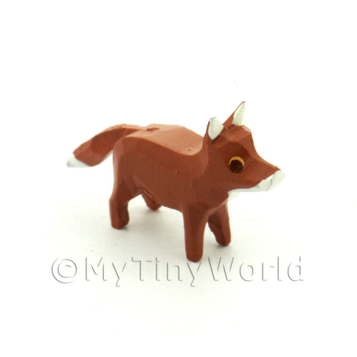 German Dolls House Miniature Small Standing Fox