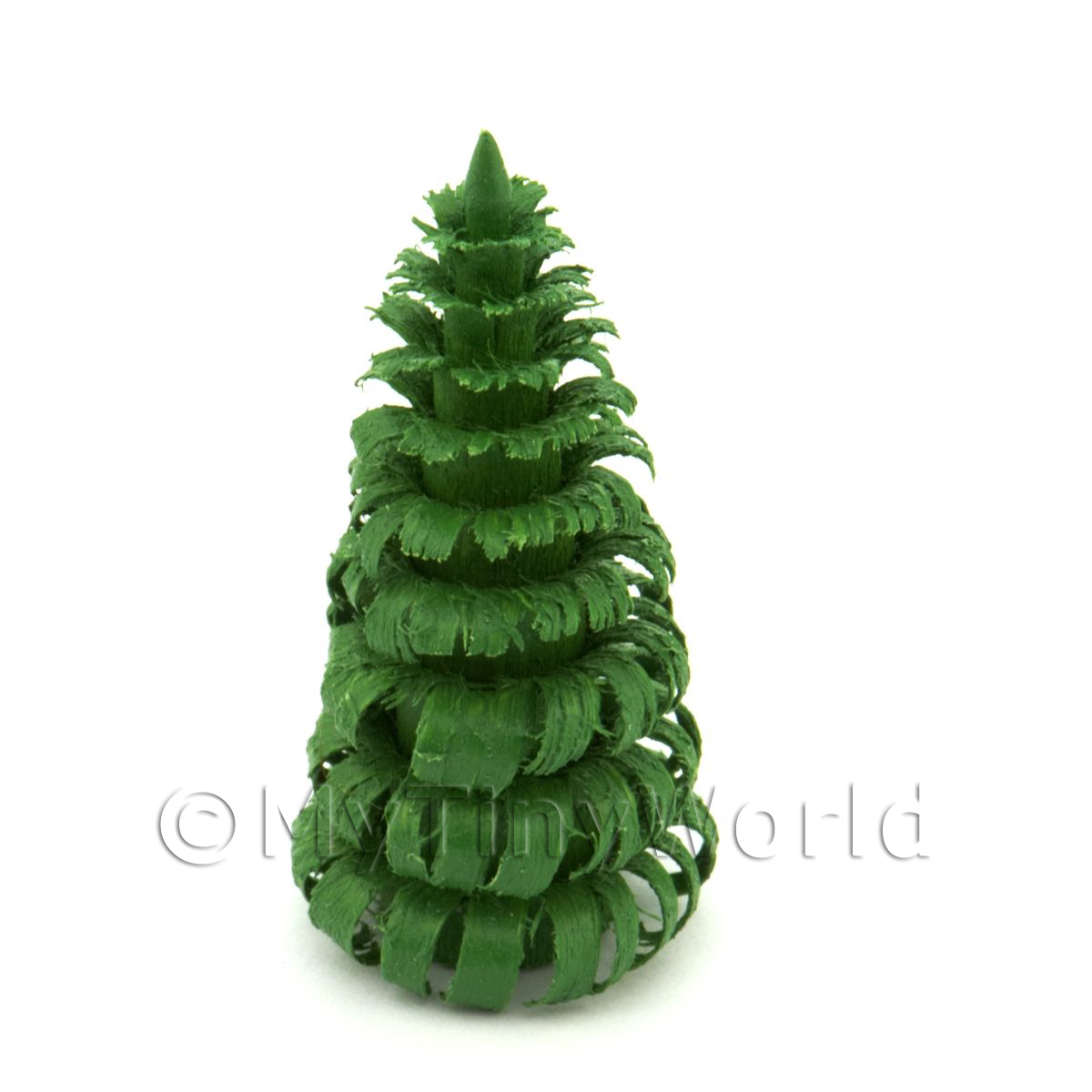 Dolls House Miniature 40mm Green Tree