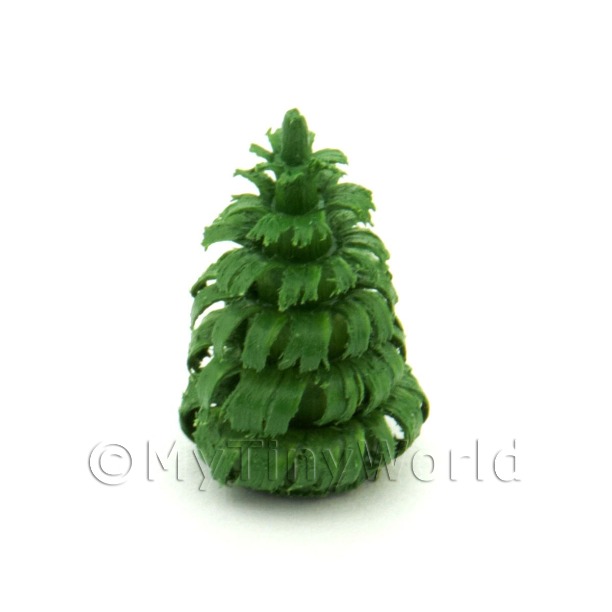 Dolls House Miniature 15mm Green Tree